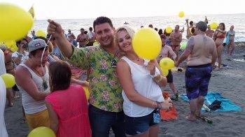 Image result for გიორგი სიგუა ცოლთან ერთად